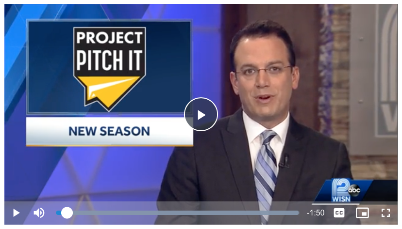 News coverage TV12 and Project Pitch It Season 5